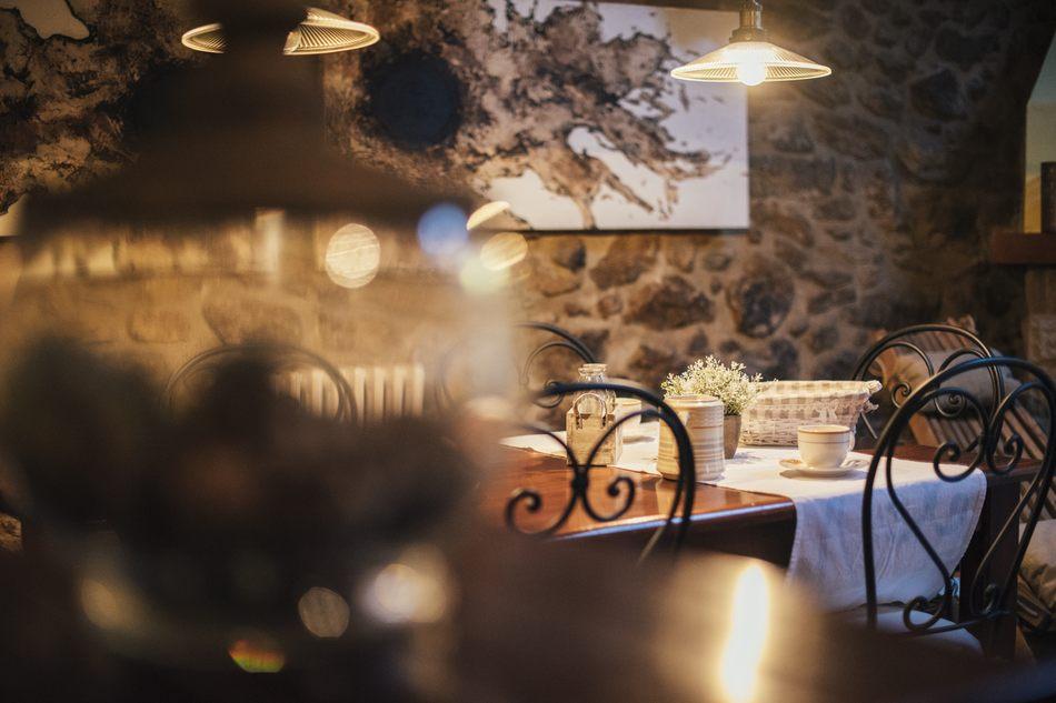 Servicio de Desayuno en Casa Rural Palacio Teruel
