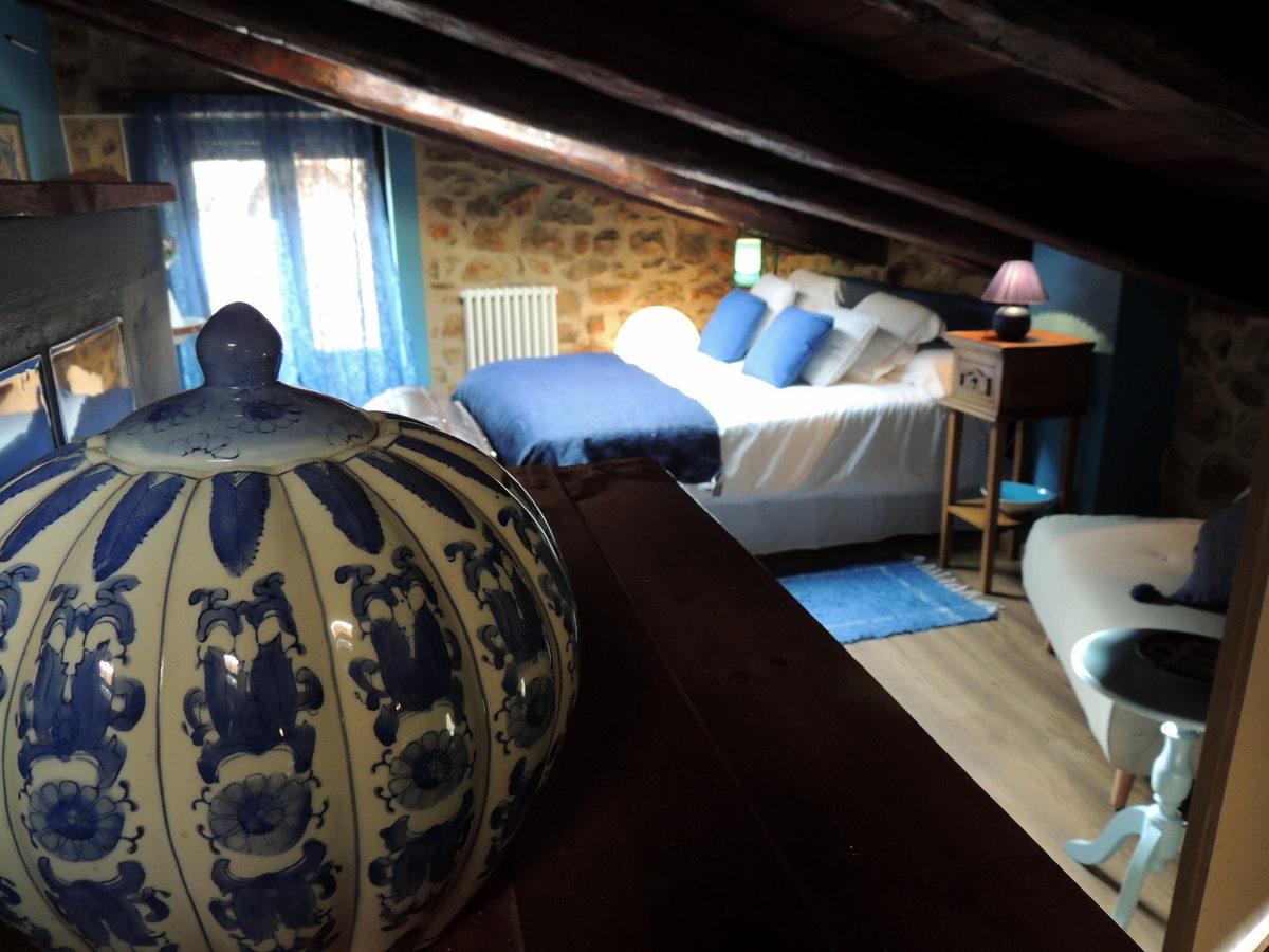 Casa Rural Palacio en Linares de Mora. Habitación Matrimonio.