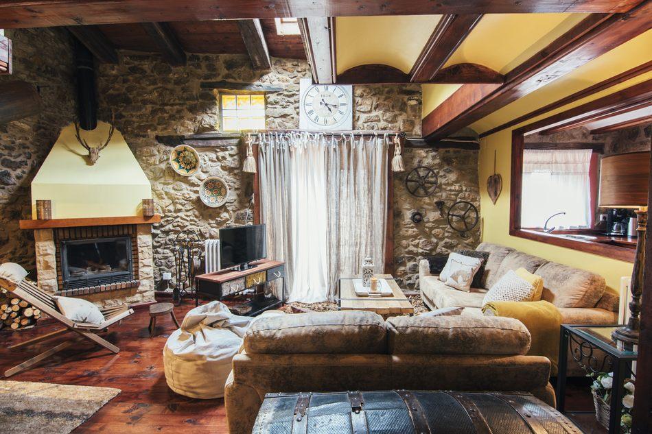 Salon de Casa Rural Palacio Teruel