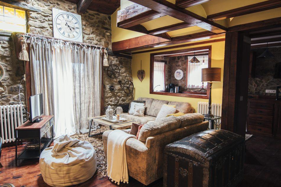 Salón de Casa Rural Palacio en Linares de Mora