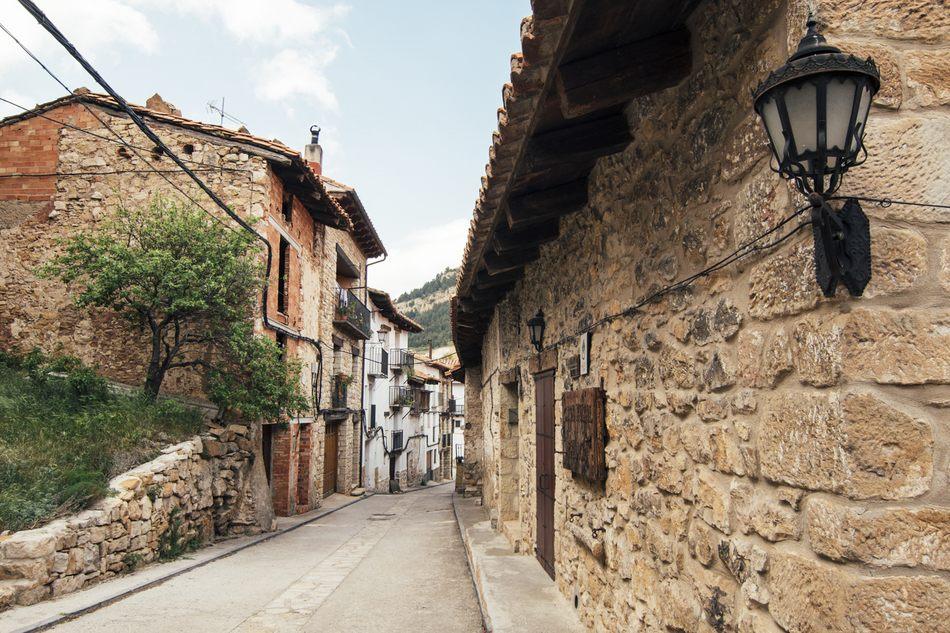 Calle Palacio de Linares de Mora, Teruel