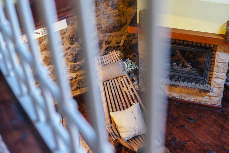 Casa Rural con estufa de fuego en Linares de Mora