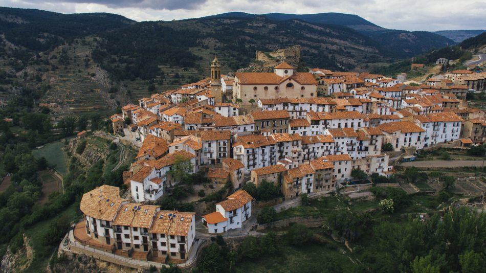Vistas de Linares de Mora, Teruel