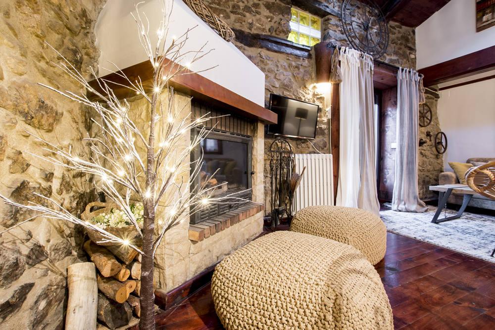Casa Rural con estufa en Teruel, Linares de Mora
