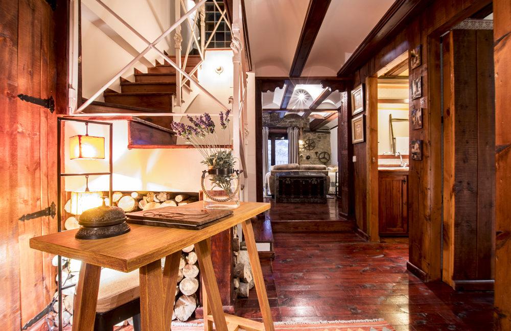 Recibidor Casa Rural Palacio